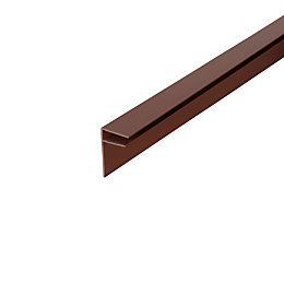 Corotherm Brown Side Flashing (W)50mm