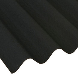 Black Bitumen Roofing Sheet 2000mm x 950mm, Pack