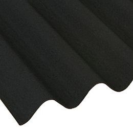 Black Bitumen Roofing Sheet 2000mm x 950mm, Pack