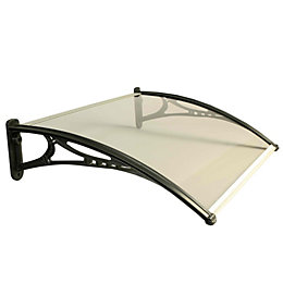Miento Clear Door Canopy (H)77mm (W)700mm (L)1000mm