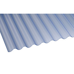 Translucent PVC Roofing Sheet 3050mm x 662mm, Pack