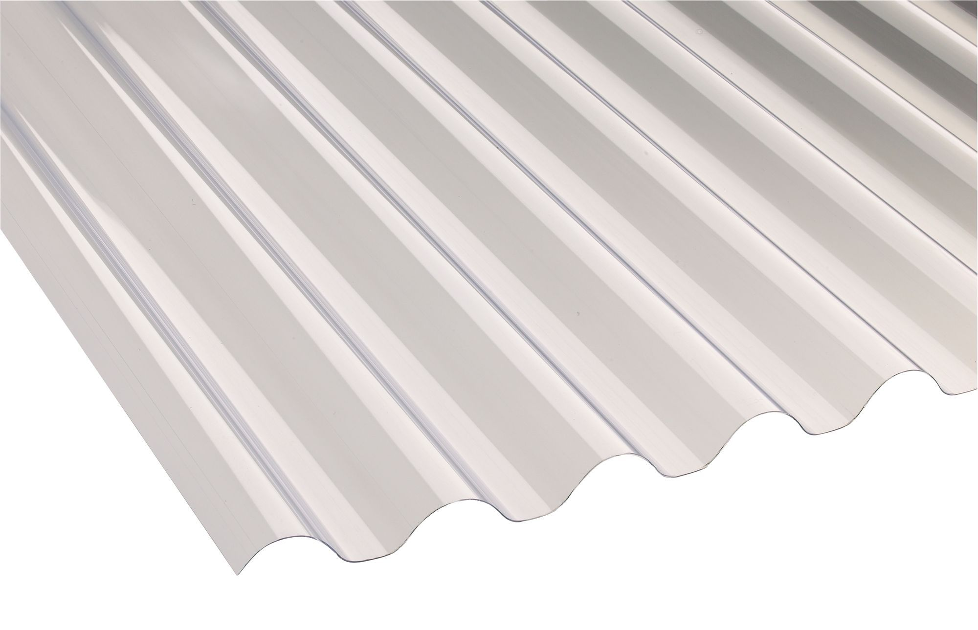 Translucent PVC Roofing Sheet 1800mm X 660mm | Departments | DIY At Bu0026Q