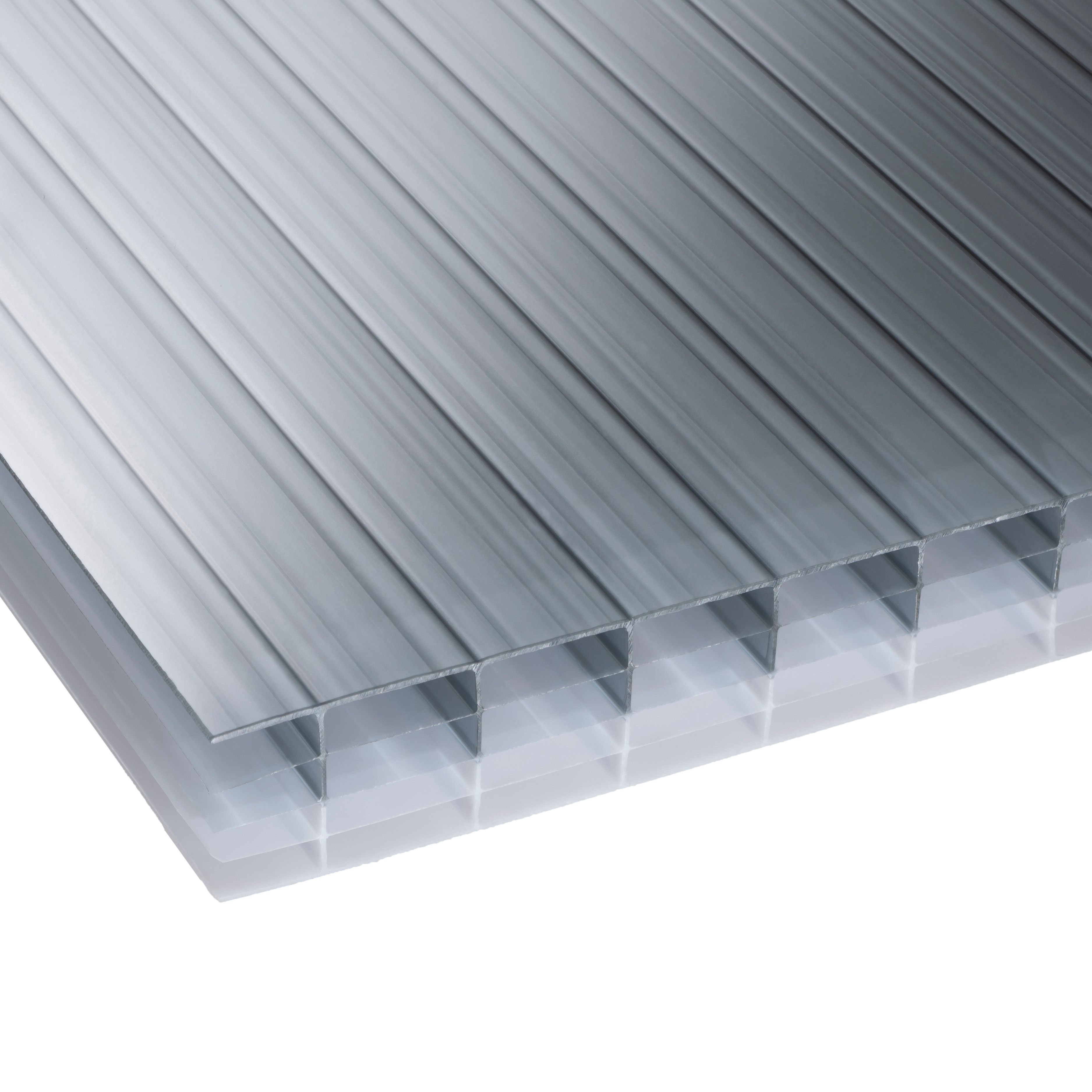 Heatguard Opal Multiwall Polycarbonate Roofing Sheet 6M X 700mm, Pack Of 5  | Departments | DIY At Bu0026Q.