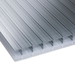 Heatguard Opal Mutilwall Polycarbonate Roofing Sheet 6000mm x