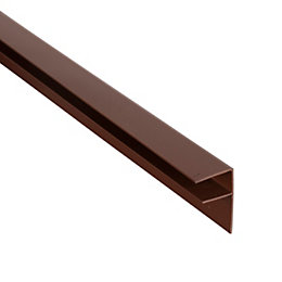 Ariel Brown Triplewall Side Flashing (W)50mm