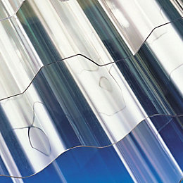 Clear Polycarbonate Roofing Sheet 2400mm x 848mm