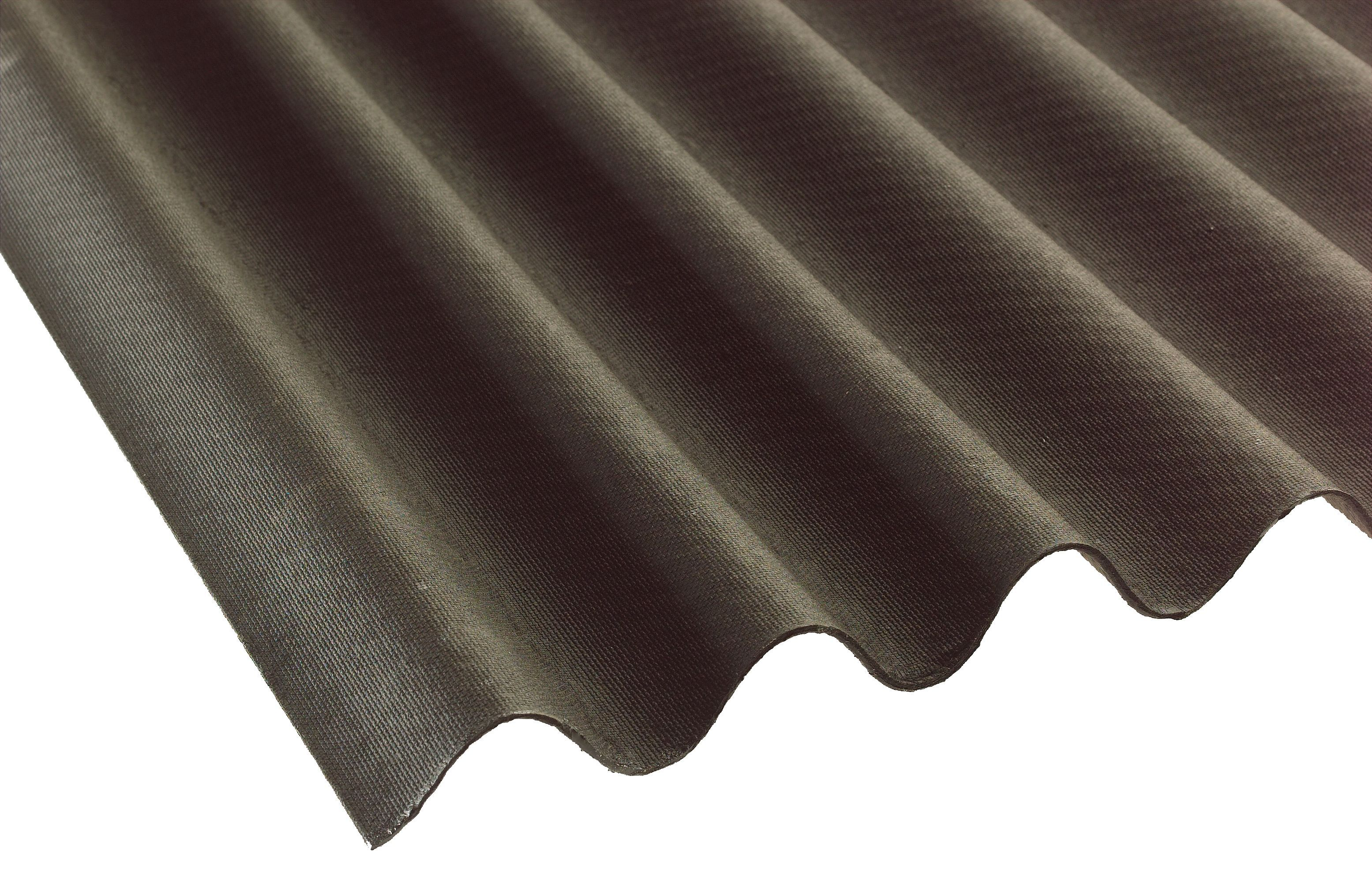 Black bitumen roofing sheet 2000mm x 900mm departments