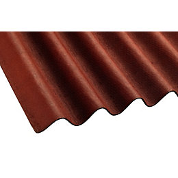 Red Bitumen Roofing Sheet 2000mm x 900mm