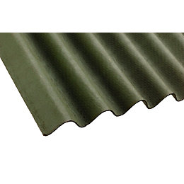 Green Bitumen Roofing Sheet 2000mm x 900mm