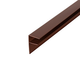 Corotherm Brown Side Flashing (W)30mm