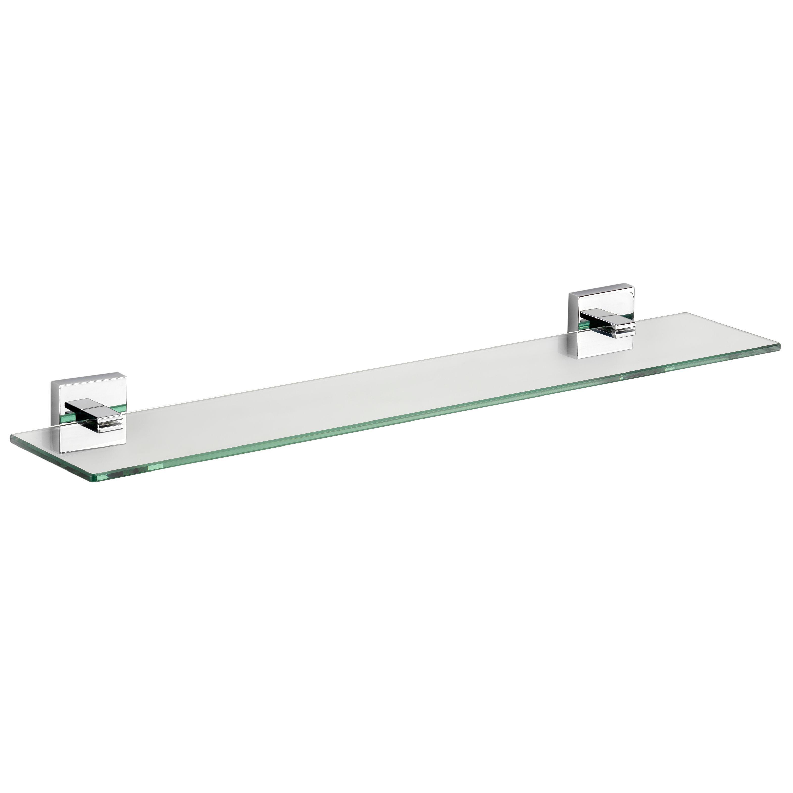 Croydex Flexi-fix Cheadle Clear Shelf (l)612mm