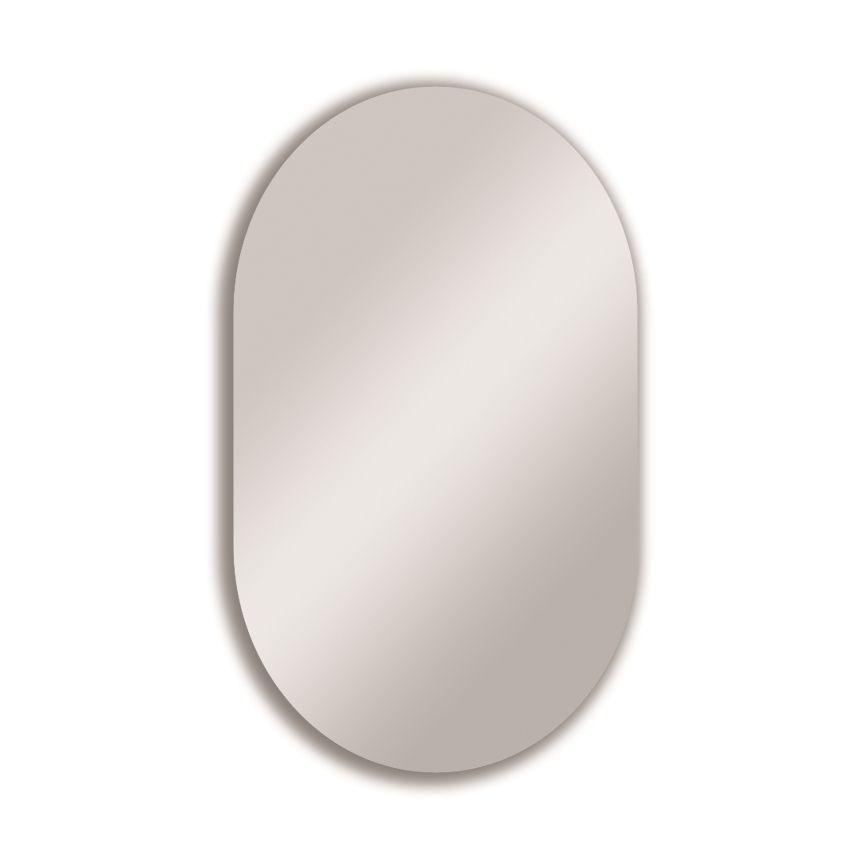 Croydex Hang 'n' Lock Harrop Rectangular Wall Mirror (w)710mm (h)460mm
