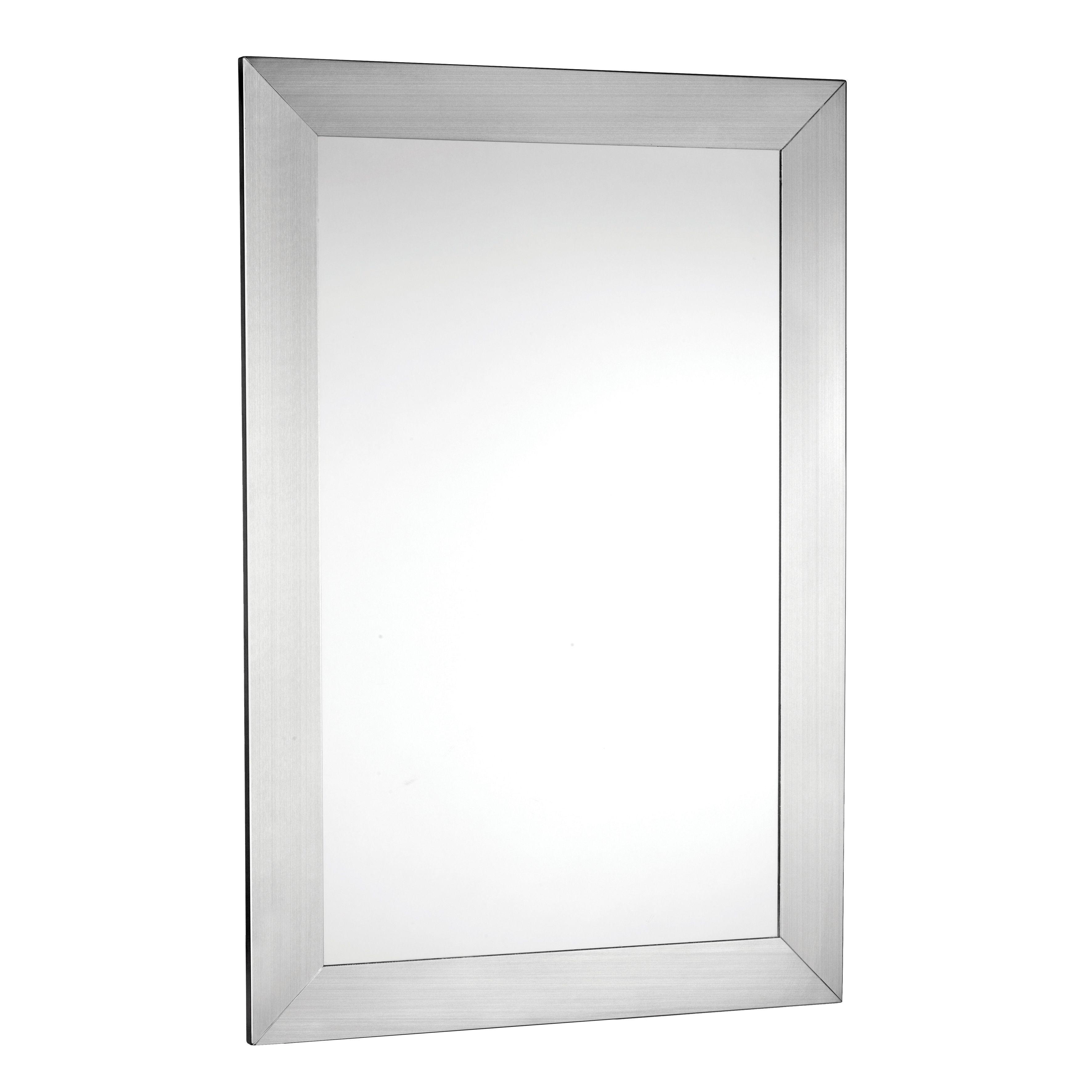 Croydex Hang'n'lock Parkgate Rectangular Wall Mirror (w)610mm (h)920mm