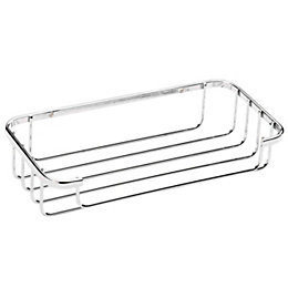 Croydex Chrome Mild Steel Cosmetic Basket