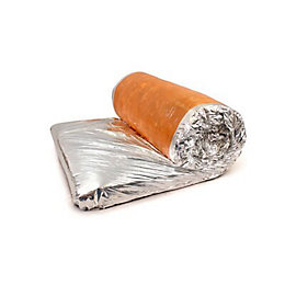 Knauf Space Blanket, (L)4m (W)1.14m (T)200mm