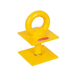 Squire GA1 Yellow Ground Anchor (H)190mm (L)102mm