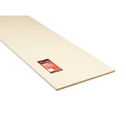 Conti MFC Furniture Panel White (L)1830mm (W)610mm (T)15mm