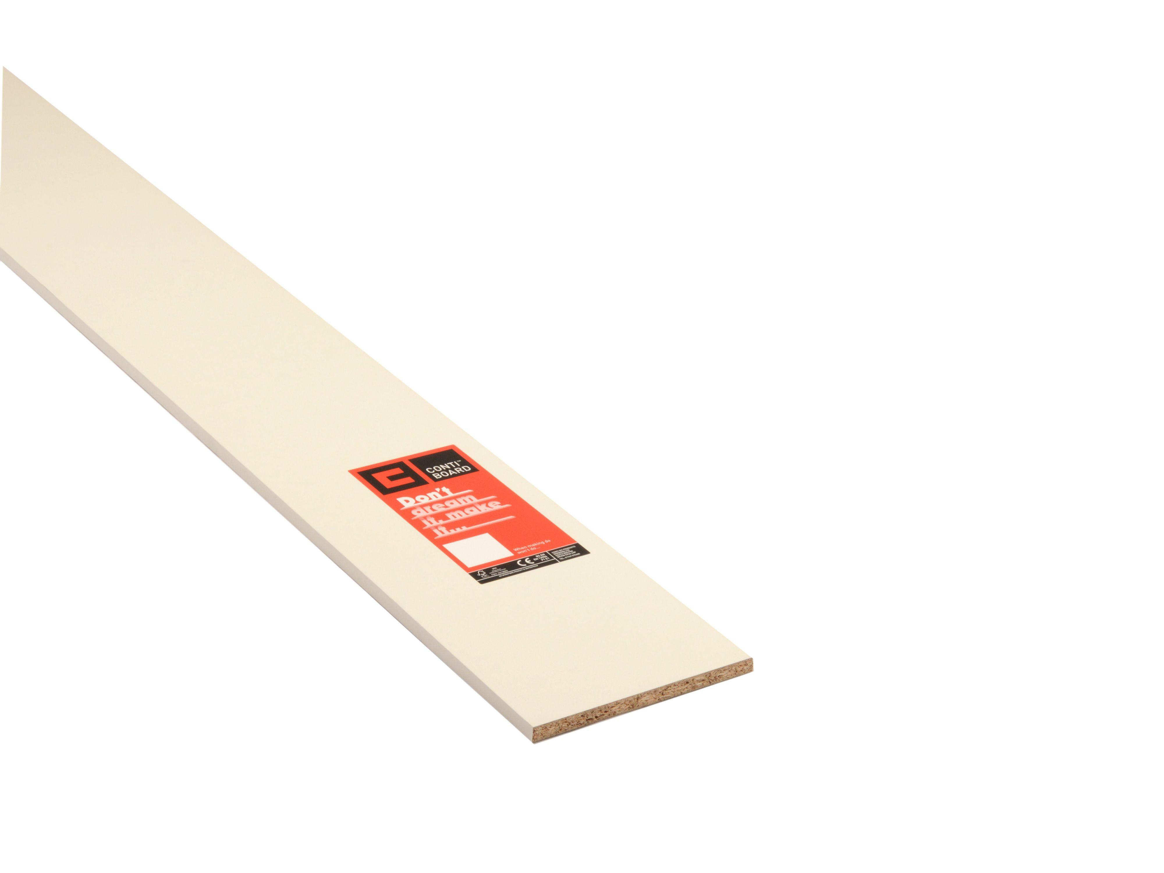 Conti MFC Furniture Panel White  L 2440mm  W 229mm  T. Furniture Panel White  L 2440mm  W 600mm  T 18mm   Departments