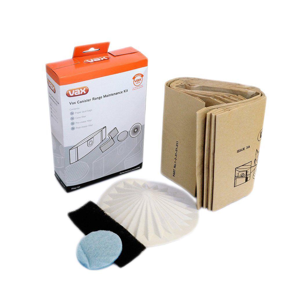 Vax Vacuum Bags & Filters Set 10l Of 10