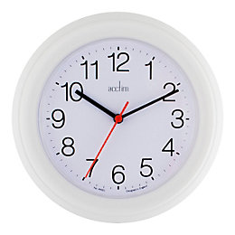 Acctim Cookham Classic White Wall Clock