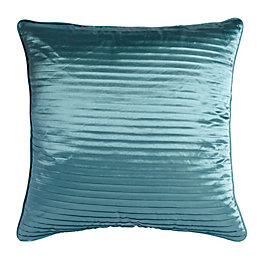 Chartwell Como Pleated Duck Egg Cushion