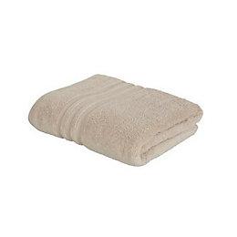 Catherine Lansfield Zero Twist Beige Bath Towel