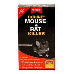 Rentokil Poisonous Bait Mouse & Rat Control 150G
