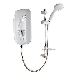 Triton Pietra 8.5kW Electric Shower, White