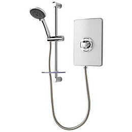 Triton Collections 8.5kW Electric Shower, White