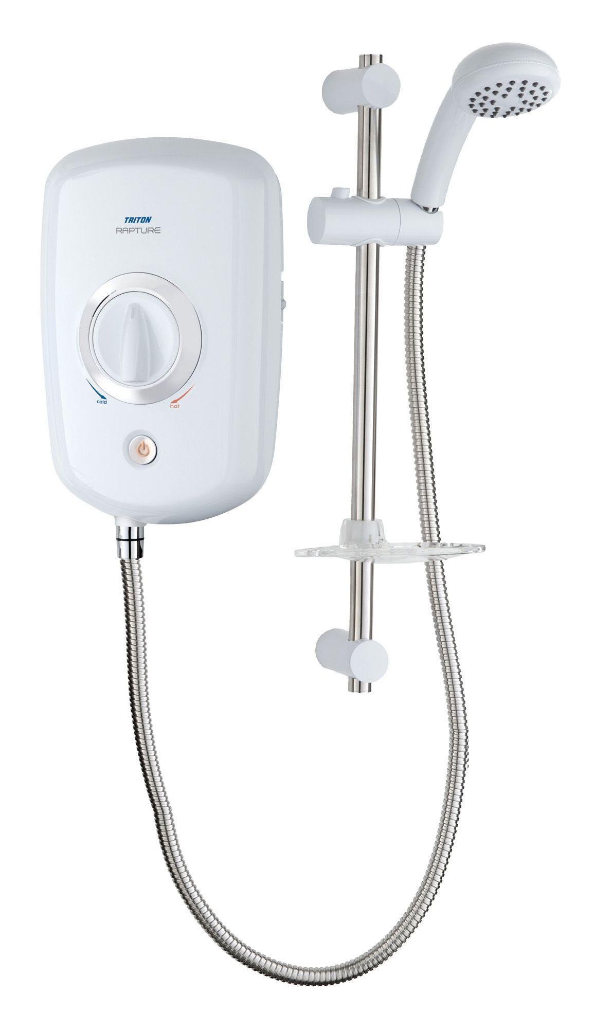 Triton Rapture 8.5kw Electric Shower, White