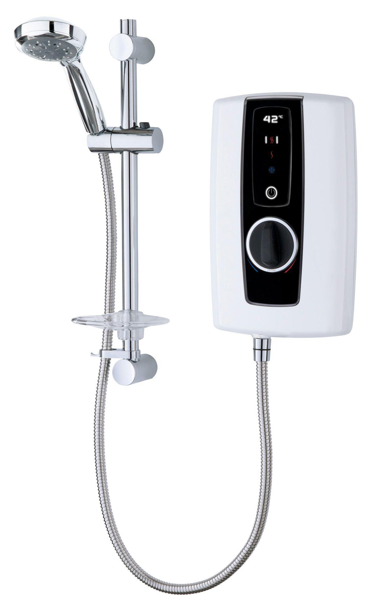 Triton Temptation 9.5kw Electric Shower, White