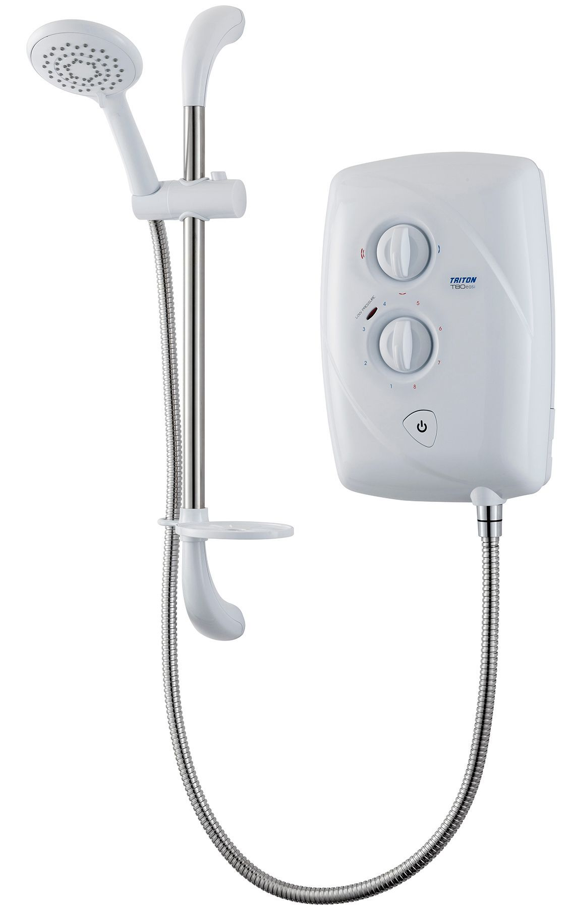 Triton T80 Easi-fit White Electric Shower, 9.5 Kw