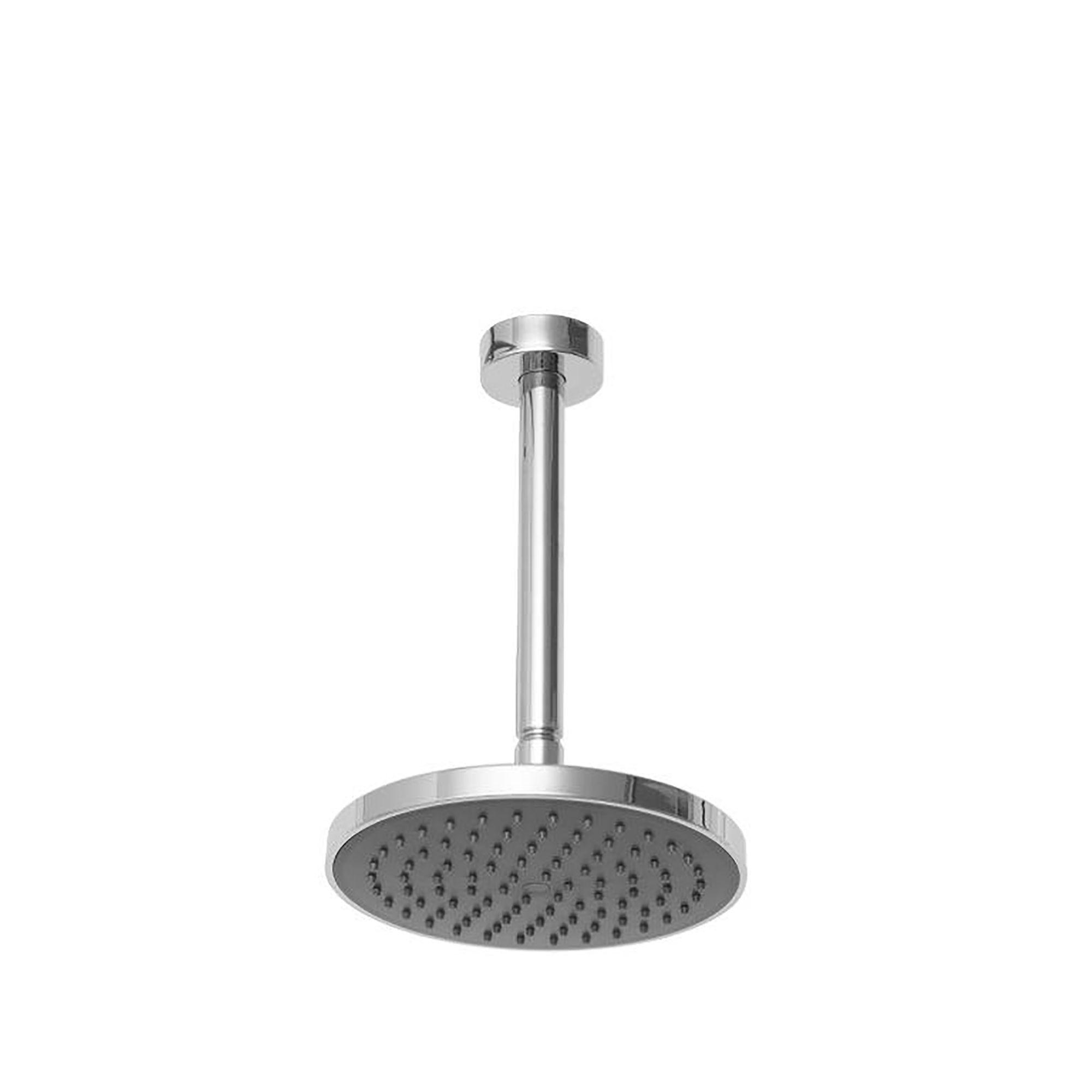 Triton Home Black Thermostatic Mixer Shower With Riser Rail, Diverter