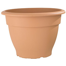 Round Plastic Terracotta Bell Pot (H)270mm (Dia)380mm