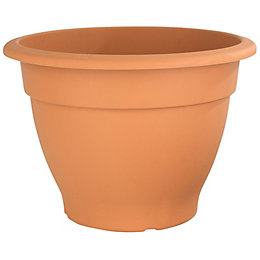 Round Plastic Terracotta Bell Pot (H)330mm (Dia)460mm