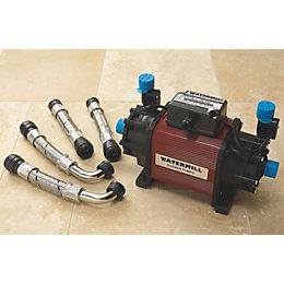 Watermill 2 Bar Centrifugal Shower Pump (H)190mm (W)220mm