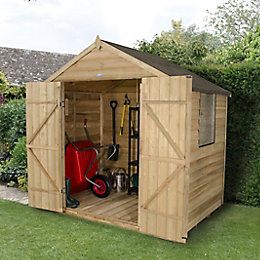 7 X5 Apex Overlap Wooden Shed