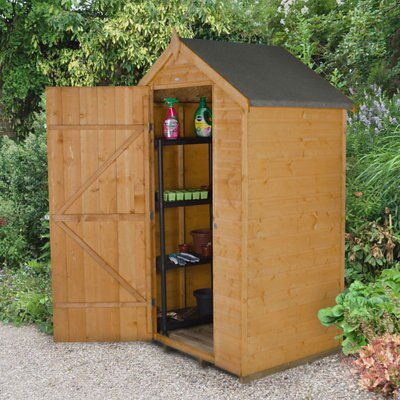 4X3 Apex Shiplap Wooden Shed with Assembly Service