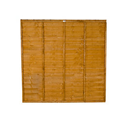 Premier Traditional Overlap Fence Panel (W)1.83m (H)1.22m, Pack