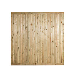 Forest Garden Decibel Noise Reduction Fence Panel (W)1.83