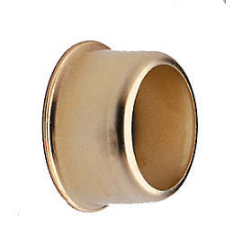Colorail Brass Effect Rail Socket (Dia)19mm, Pack of