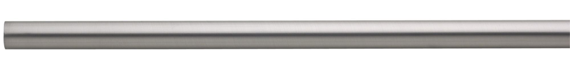 Colorail Nickel Effect Steel Round Tube (l)0.91m