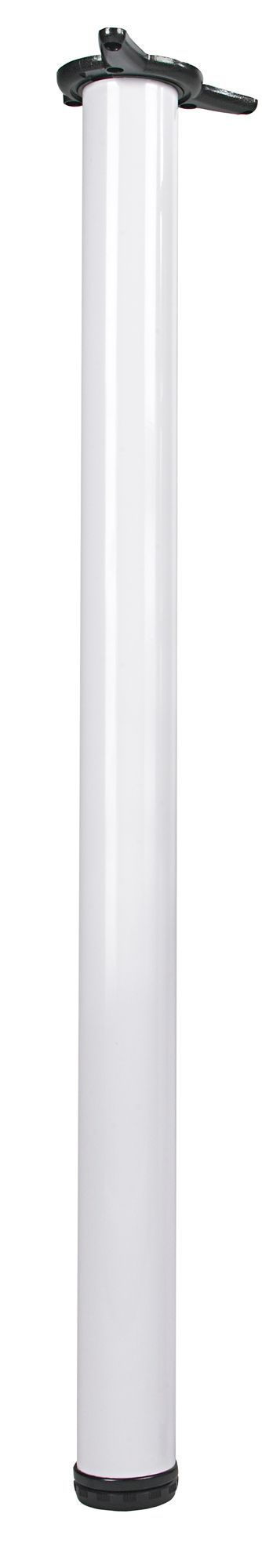 Rothley (h)870mm White Worktop Support Leg