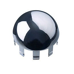 Polished Handrail Domed Cap (H)40mm