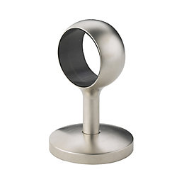 Brushed Straight Handrail Post (W)40mm