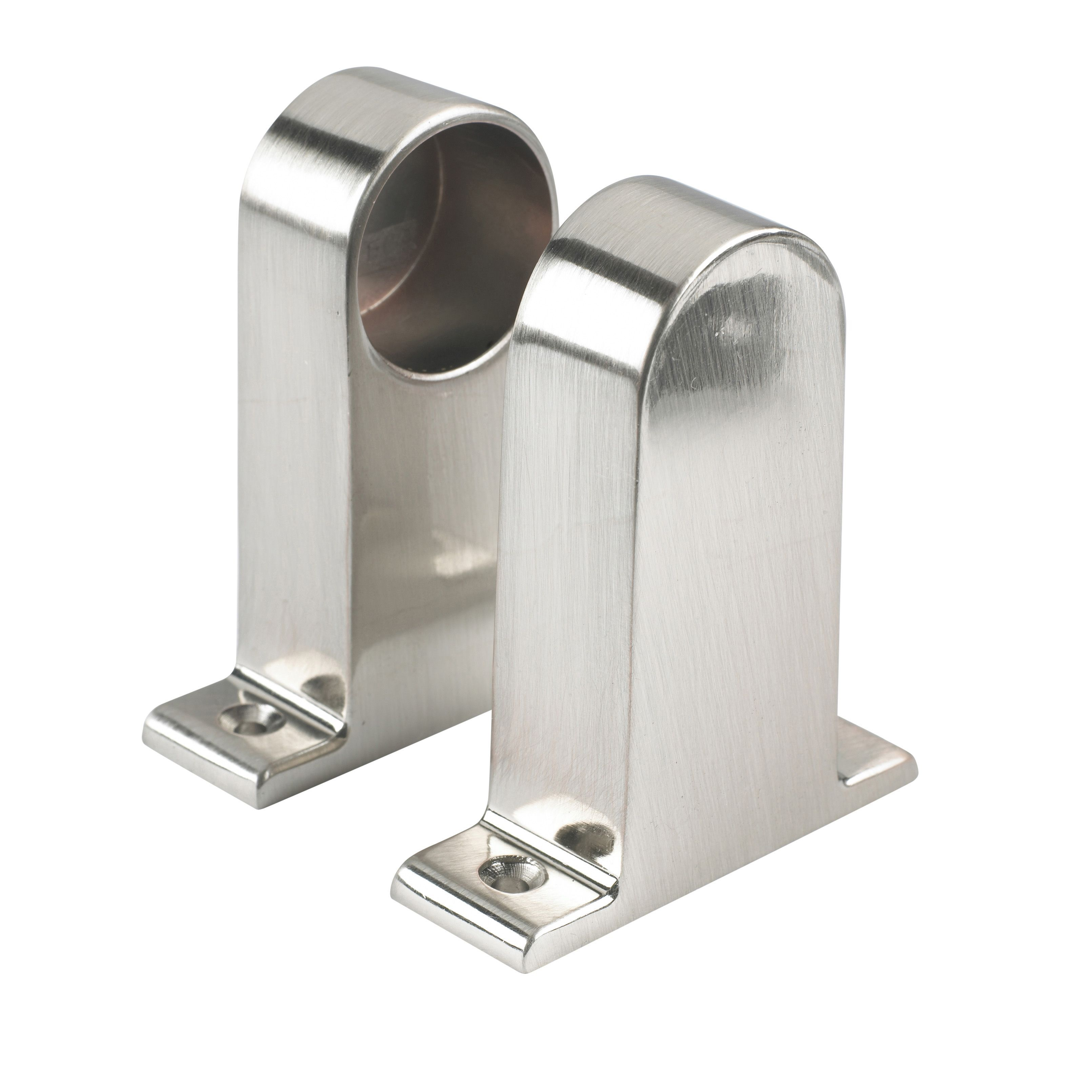 Colorail End Bracket (dia)32mm, Pack Of 2
