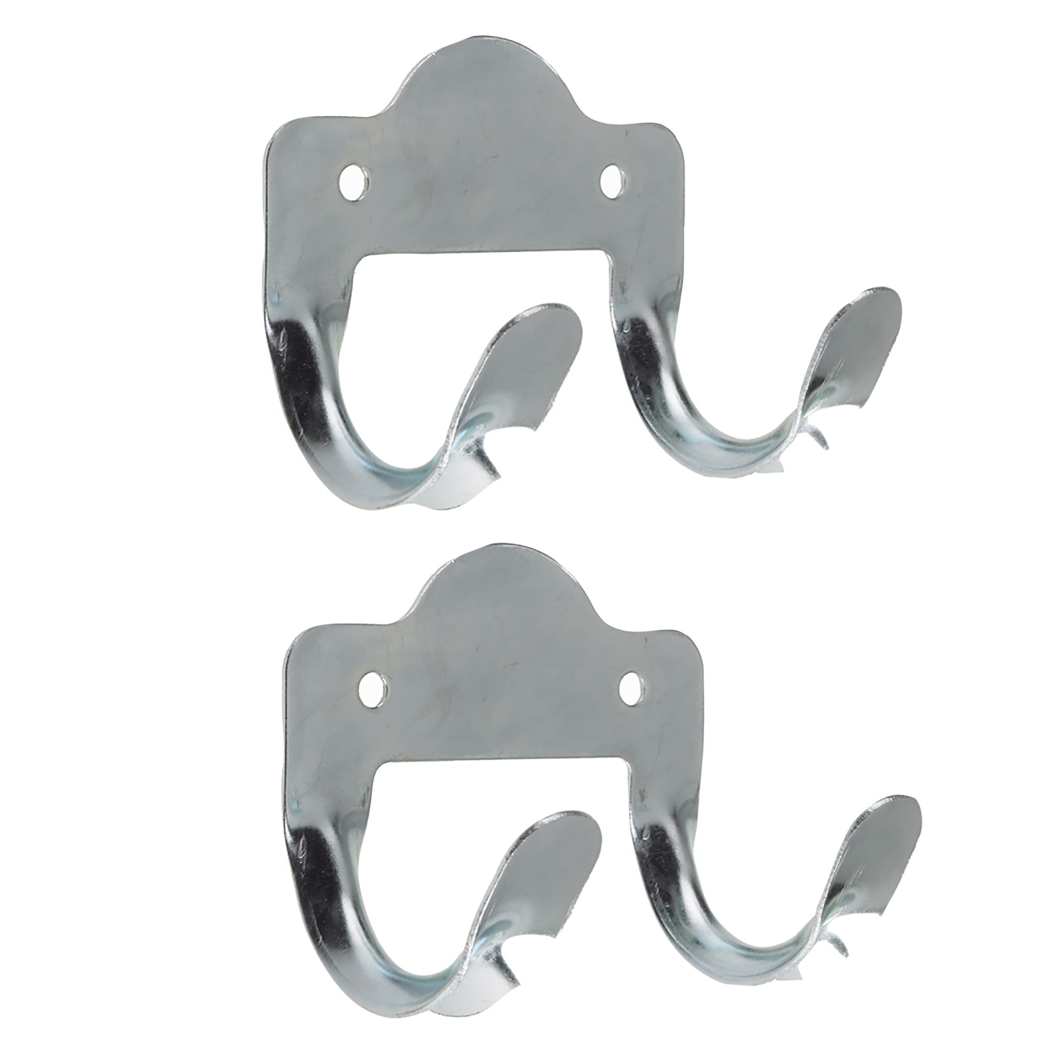 Rothley steel tool storage hooks pack of 2 departments for Garden shed hooks