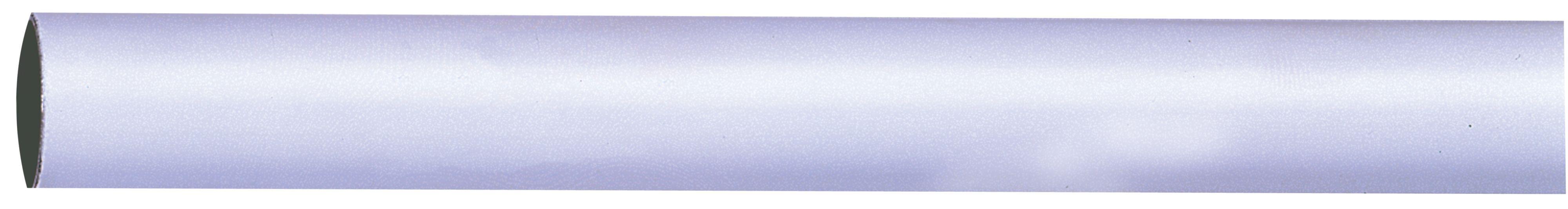 Colorail White Steel Round Tube (l)0.91m