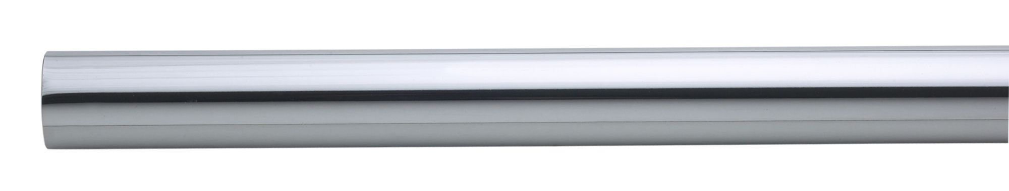 Colorail Chrome Effect Steel Round Tube (l)0.91m