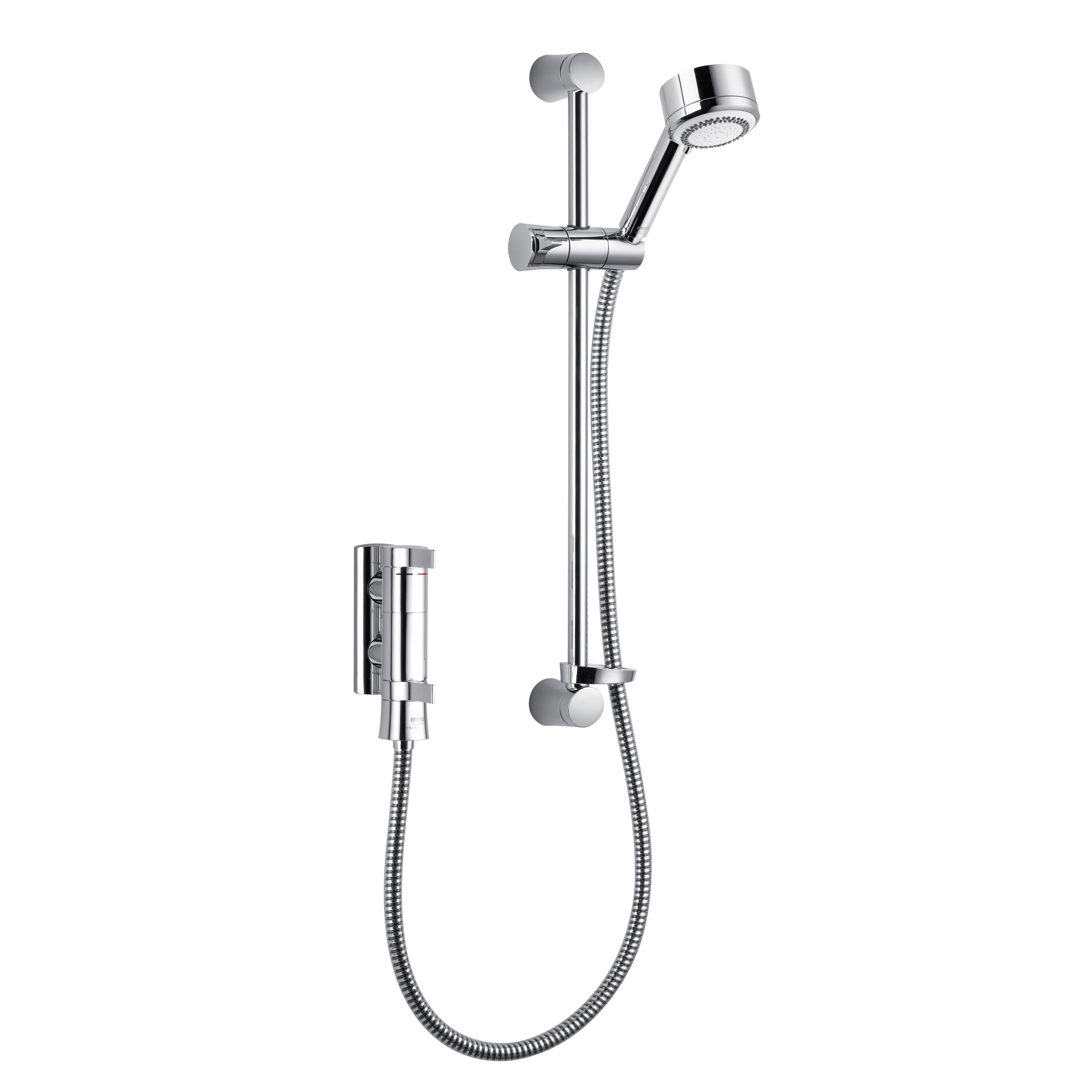 Mira Infuse Ev Chrome Thermostatic Bar Mixer Shower
